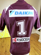 MANLY SEA EAGLES  2016 S G BALL CUP  JERSEYPLAYER ISSUED with grips  MENS SIZE L