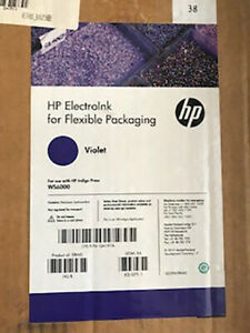 HP Indigo ElectroInk Violet Flexible Packaging Serie WS6000 Q4191A