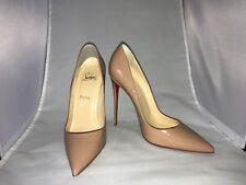 """efdf5bcf4be Christian Louboutin """"So Kate"""" Patent Nude Stiletto Heels Size EU 40 US 10"""
