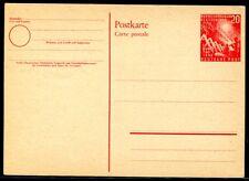 Bund 1949 pso2 con posta anomala freschi Bundestag (j4587