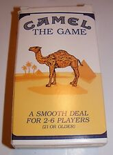 1992 Camel The Game A Smooth Deal Cigarette Advertising NEVER USED, Open Box