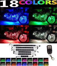 12pc LED Motorcycle Accent Engine Ground Wheel Light Kit for Harley Davidson