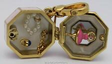 NWT Juicy Couture LTD ED MUSIC BOX CHARM Tagged BOX Ballerina Jewelry GOLD Rare