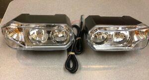 Halogen Snowplow Headlamp Kit  (1 pair) NEW, In Box,  Hiniker Sno-way plow light