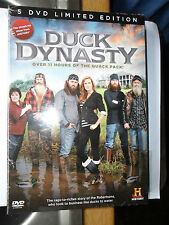 DUCK DYNASTY DVD COMPLETE 1 - 2 5 DISC BOX SET LIMITED EDITION REDNECK CHRISTMAS