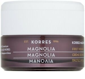 KORRES MAGNOLIA FIRST WRINKLES NIGHT CREAM, FACE & NECK, ANTI-AGING, REFINING