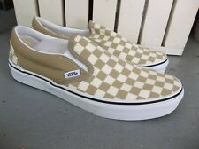 NWT MEN'S VANS CLASSIC SLIP ON CHECKERBOA SNEAKERS/SHOES SIZE 9.BRAND NEW 2020!