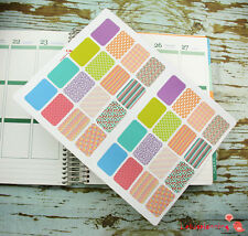 32 Half Box Life Planner Life Die-Cut Stickers for Erin Condren Planner BX1145