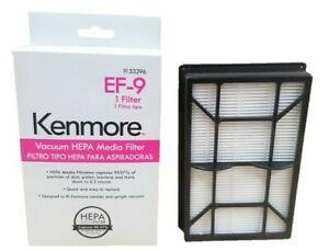 Genuine Sears Kenmore EF9 53296 HEPA Media Vacuum Exhaust Filter, EF-9 40195