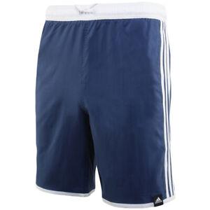 Adidas 3-Stripes CLX Swim Shorts Swimming Pool Swimwear Blue FJ3362