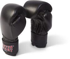 Paffen Sport Fight Leder Handschuhe, Boxhandschuhe in rot, blau u. schwarz.