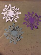 Paper flower centers, Card embellishments, set of 12 centers, you choose color