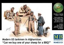 Master Box mb35131 - 1/35 Modern U.S. Tankmen en Afghanistan-Neuf