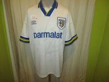 """Parma AC,FC Parma Original umbro Heim Trikot 1993-1995 """"parmalat"""" Gr.L TOP"""