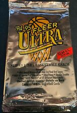 1994-95 Fleer Ultra NBA Series 1 17-Card Jumbo Pack - Brand New & Sealed