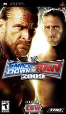 "PSP PLAYSTATION SMACK DOWN VS RAW 2009  ""NUEVO Y PRECINTADO"" NEW / SEALED"