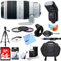 Canon EF 100-400mm f/4.5-5.6L IS II USM Lens Ultimate Accessory Bundle