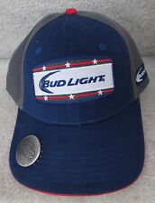 Anheuser Busch Bud Light Baseball Cap Trucker Hat with Bottle Opener