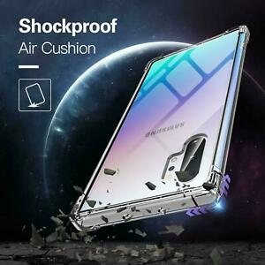Case For Samsung Galaxy S10 S9 S8 S7 A90 A20 A50 Silicone Gel Shockproof Cover