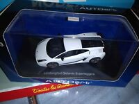 AUTOART 1/43 LAMBORGHINI GALLARDO SUPERLEGGERA MONOCERUS/METALLIC WHITE NEUF