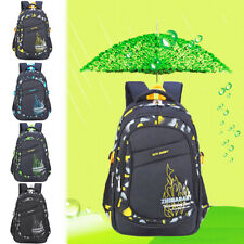 Student School Backpack Boys Girls Schoolbag Teens Shoulder Bag Laptop Bag SSCA