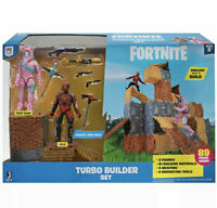 Fortnite Turbo Builder Set 2 Figure Pack Rabbit Raider and Vertex