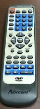 NORCENT DVD Video TV Remote Control KF-8000C 8000B 8000A Ships Immediately!