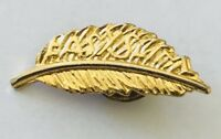 Easy Slim Weightloss Feather Advertising Brooch Pin Badge Rare Vintage (H11)