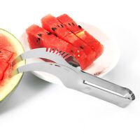Watermelon Cutter Slicer Knife Server Corer Scoop Stainless Steel Tool Carve