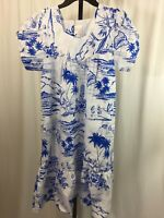 Hawaiian dress Size Small Kalena Fashions Hawaii Map Design Dress