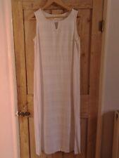 White Maxi Dress by Adini , Size M