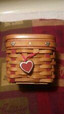 Longburger handwoven basket 2