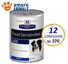 12 confezioni Hill's Prescription Diet Canine z/d 370 grammi - Alimento umido