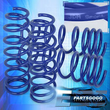 For 13 17 Accord 15 20 Tlx 24l Jdm Vip Lowering Springs Set Frontrear Blue Fits 2013 Honda Accord