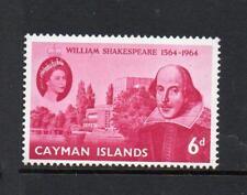 CAYMAN ISLANDS MNH 1964 SG183 400TH BIRTH ANV OF SHAKESPEARE