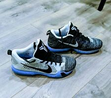 Nike Kobe 10 X Elite Low Premium HTM Shark Jaw Oreo Size 13 VNDS CLEAN!