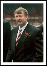 Bassett & Co Great Managers 2 (1992-93) Postcard Alex Ferguson (Manchester Utd)