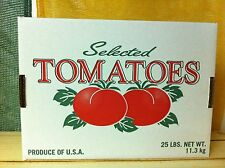 25 LB Tomato box Lid Only 50 count