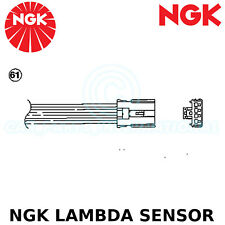NGK Lambda Sensor (Oxygen O2) - 4 Wires - Stk No: 92130, Part No: OZA723-EE37