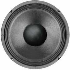 More details for black 166mm 6.5 inch 60w rms bass mid range round speaker driver 8 ohms