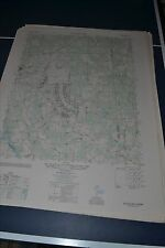 1940's Army topographic map Blackstone Virginia -Sheet 5458 III SW