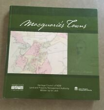 Macquarie's Towns - Heritage Council Of NSW