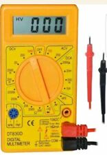 Digital Multimeter LCD 19 Ranges DC AC Electric Circuit Tester Continuity Buzzer
