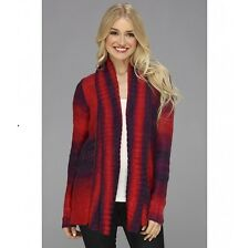 $86.50 NEW FOX RACING WOMEN GLIMMER CARDIGAN ACRYLIC SWEATER S SMALL C179