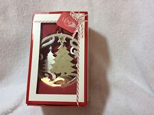 65% Off Lenox Stamped Tree Christmas Ornament New In Box Holiday