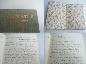 Handwriting Ffm 1902: Wedding Hellmuth From Prollius (1862-1921) Tony Andreae