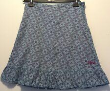 Animal Blue Pink Floral Skirt Size 12