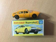Matchbox Lesney 1-75 Superfast Nr. 56 A - BMC 1800 PININFARINA - mit OVP