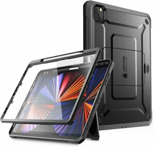 For iPad Pro 11 Inch (2021) UBPro Rugged Full-Body Kickstand Protective Case