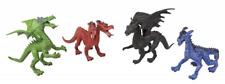 "4 Game Characters "" Dragon "" Approx. 16cm Play Set Dragon Kite Fantasy 4 Animals"